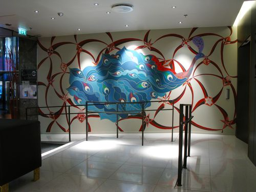 Folkteateret_wallpainting