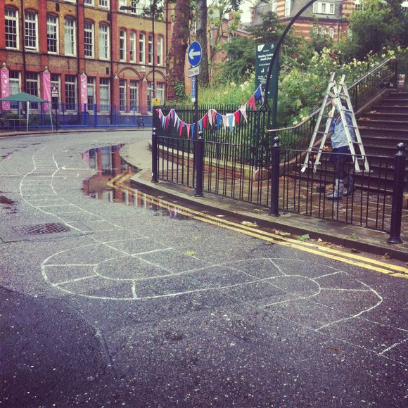 Summer special 1: infinity Hopscotch at the Arnold Circus Olimpicnic.