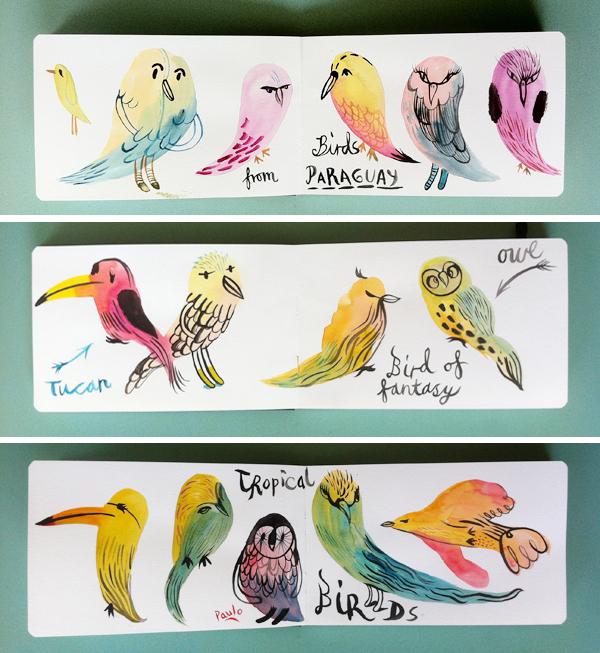 Tropical_birds_watercolours