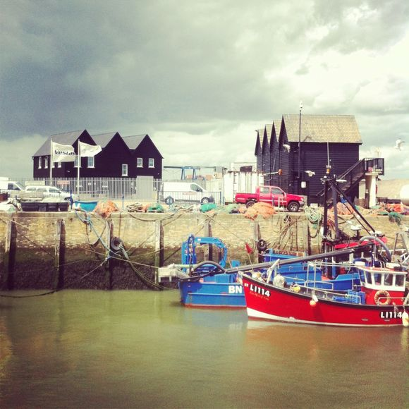 Postcard from Whitstable.